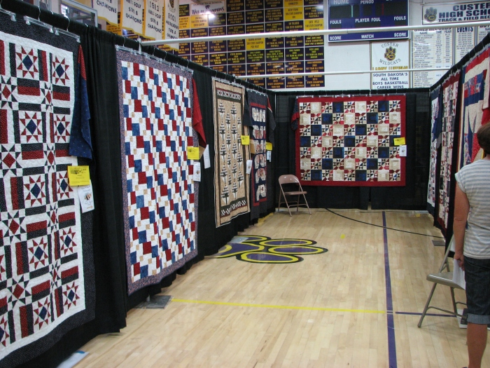 Just part Custer Piecemaker's Quilts of Valor
